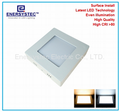 5W LED Panel lights surface mounted downlight Samsung LED CRI 92 with 5 years