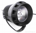 30W Cree CXA1507 LED Track Light Meanwell LED Driver 5 Years Warranty 50000hrs