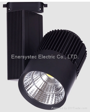 30W LED Tracking Lighting Aluminum profile+glass,3000LM for office home hotel 2