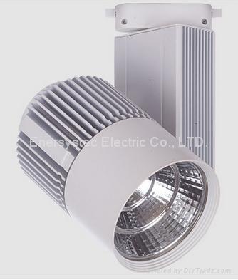 20W COB LED Track Light Aluminum Case 100-240V Samsung LED CE Driver Long Life 2