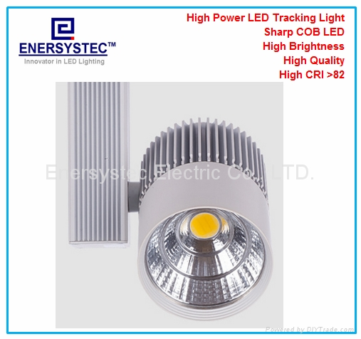 20W COB LED global track lighting 1