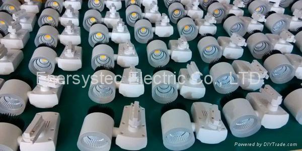 20W COB LED Track Light Aluminum Case 100-240V Samsung LED CE Driver Long Life 8