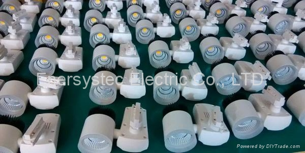 20W COB LED global track lighting 8