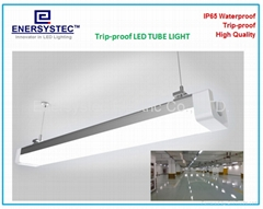 Tri-proof Industrial Lighting 40W CE ROHS Certified 100-277V Dustproof LED Light