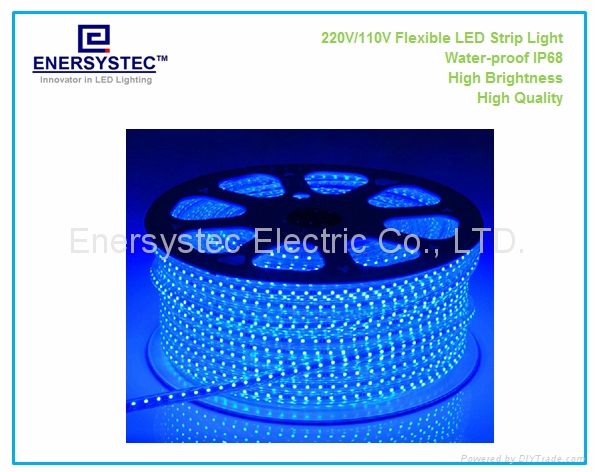 New generation 230V AC high voltage LED Strip Lights high quality factory 1