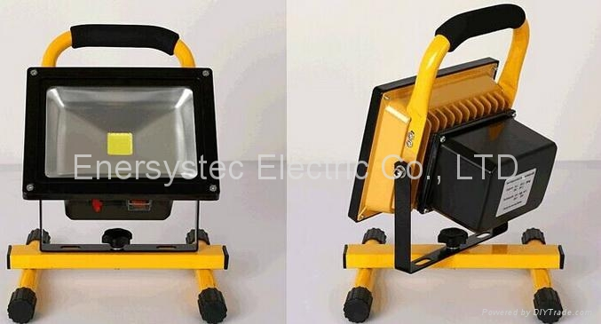 20W rechargeable led flood lighting work lights,Charging Floodlight 5