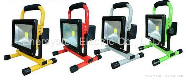 20W rechargeable led flood lighting work lights,Charging Floodlight 7