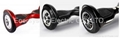 Balancing hoverboard Electric Scooter with Samsung Battery Bluetooth LED lights