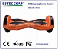 8.5inch self balance electric scooter hover board with bluetooth LED lighting