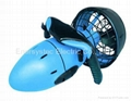 Diving Electric Sea scooter 300W dual speed propulsion scooter underwater 30m