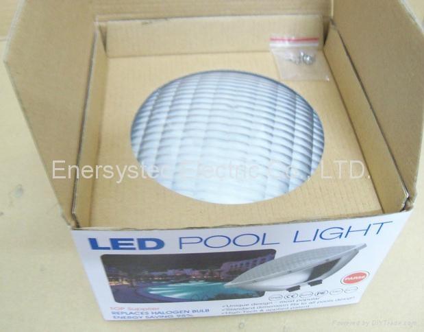 Par56 LED Pool Lighting 316 Stainless Steel plastic 8