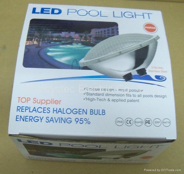 Par56 LED Pool Lighting 316 Stainless Steel plastic 9