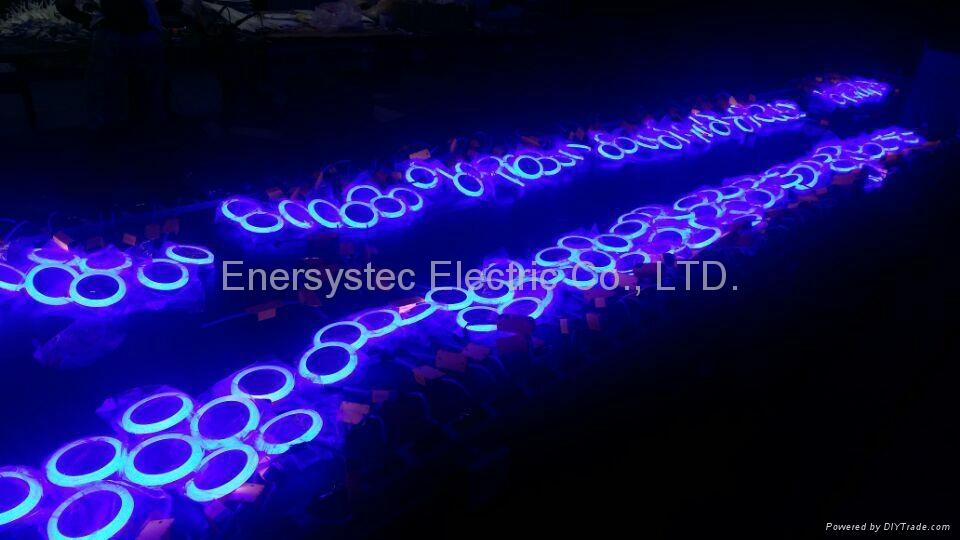 Double Color LED Panel Light, Dual Color White 12W+Blue 4W 12