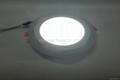 Double Color LED Panel Light, Dual Color White 12W+Blue 4W 5