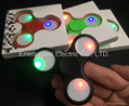 A Fidget Spinner China Factory With RGB LED Light Finger Spinner Hand Spinner