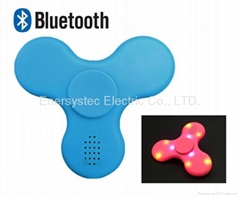 Fidget Spinner with Bluetooth Speaker USB Rechargeable
