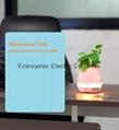 Music Plant Pot with Bluetooth Speaker LED Night Light Piano Music Flowerpots 9