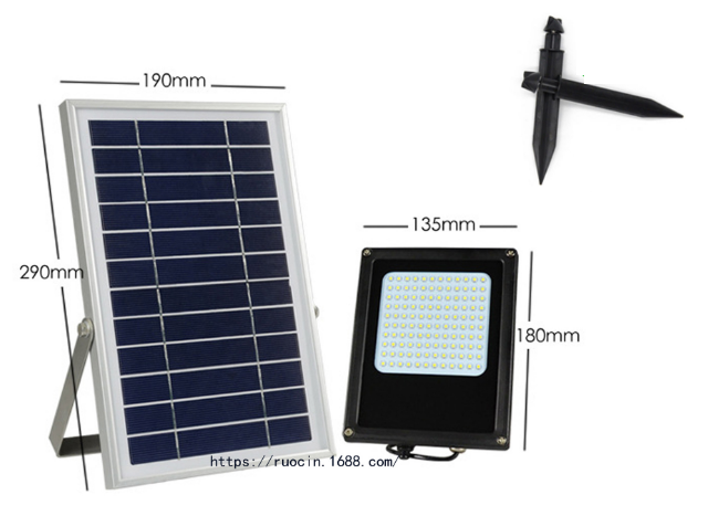 太陽能氾光燈 4