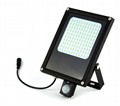 Motion Sensor Solar LED Floodlight,IP65, 15W LED Light Dusk to Dawn