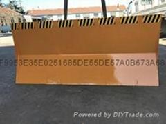 全工叉车推雪板2.1米简易推雪板产品热销
