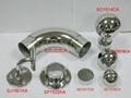 Stainless steel rail armrest 5