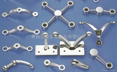 The material of the balustrade bracket series is Stainless Steel 304 or 316.