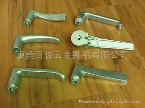 脱蜡精密铸造不锈钢门拉手铸件 2