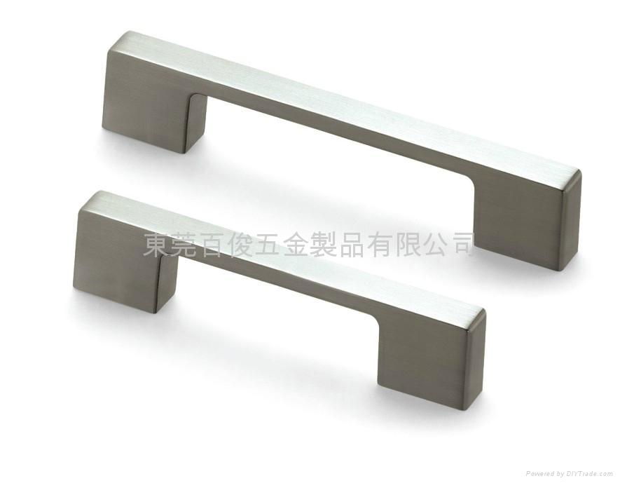 脫蠟精密鑄造不銹鋼門拉手鑄件 5