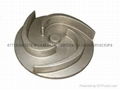 Lost wax casting stainless steel