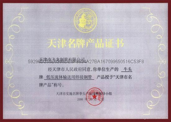 天津焊管鍍鋅管 3