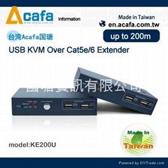 ACAFA USB KVM延長器
