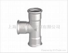 三慶卡壓式不鏽鋼管件
