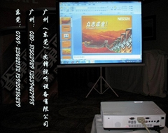 东莞投影机设备租赁