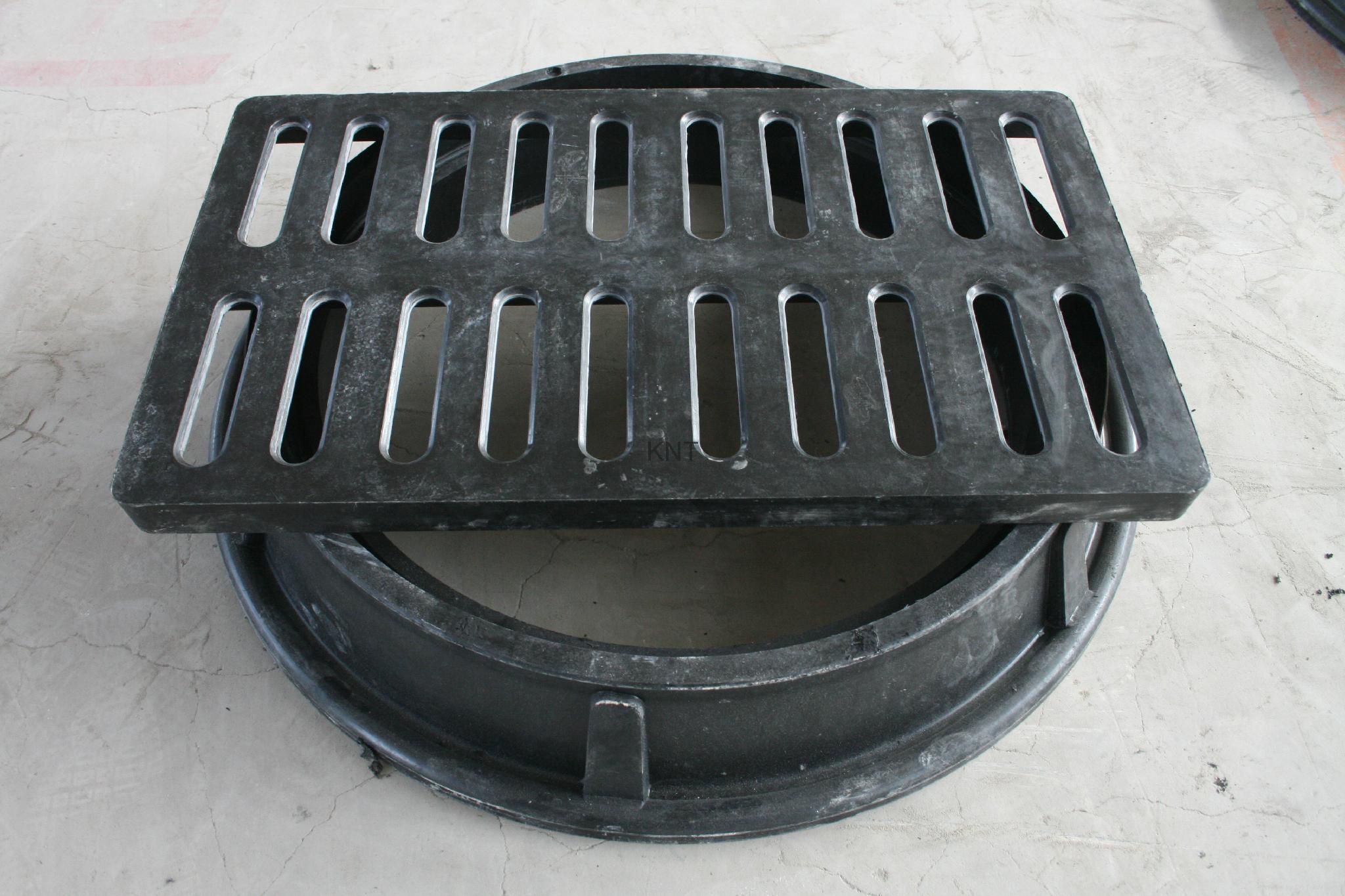 FRP manhole cover 3