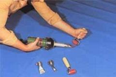 珍珠棉熱風塑料焊槍DIODES