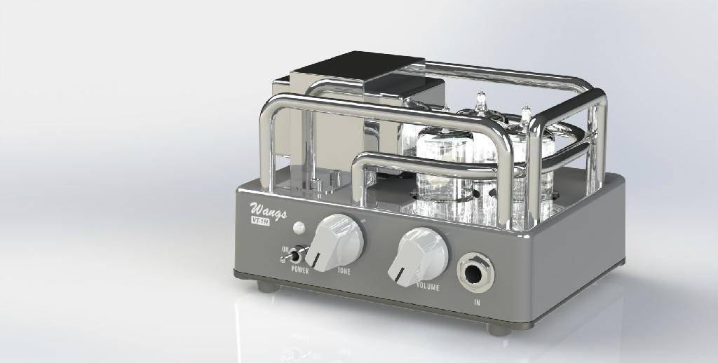 biyang wang amps vt 1h all tube 1 watt micro amp head compact powerful us ship ebay. Black Bedroom Furniture Sets. Home Design Ideas