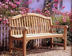 戶外休閑實木長椅