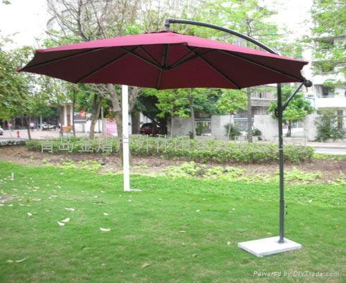 折疊庭院崗亭羅馬傘 1