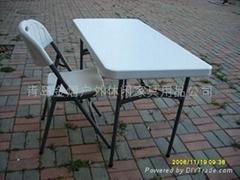 折叠户外广告宴会桌椅