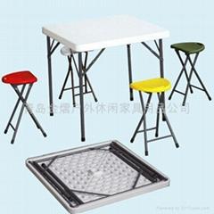 折叠户外休闲野餐桌椅