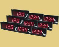 3 1/2(大螢幕)電壓、電流顯示器