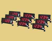 3 1/2(大螢幕)電壓、電流顯示器(固定座)