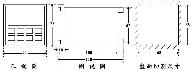 高速型計數器--72×72mm  2