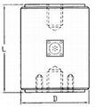 圓柱型荷重元 500kg ~ 2000kg
