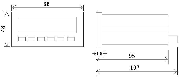 位移顯示器 3