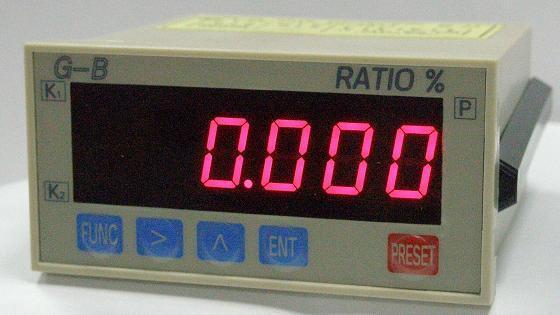比例型--4位顯示型比例錶 1
