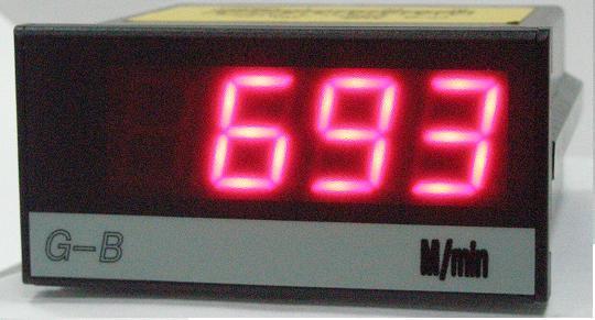 4 1/2電壓、電流顯示器 1