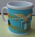 Italy football club PVC cups,Lazio series cups,Water/coffee  Cups