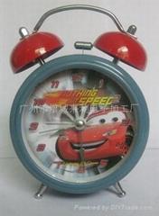 雙鈴金屬鬧鐘