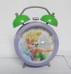 (大量供應)個性設計鬧鐘,臥室鬧鐘